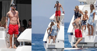 PHOTOS: Lionel Messi Spends Quality Family Time On A Luxury Yacht
