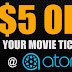 Free Movie Ticket at AMC Movie Theaters on Tuesday or $5 Off Any Movie Ticket at any Theaters!
