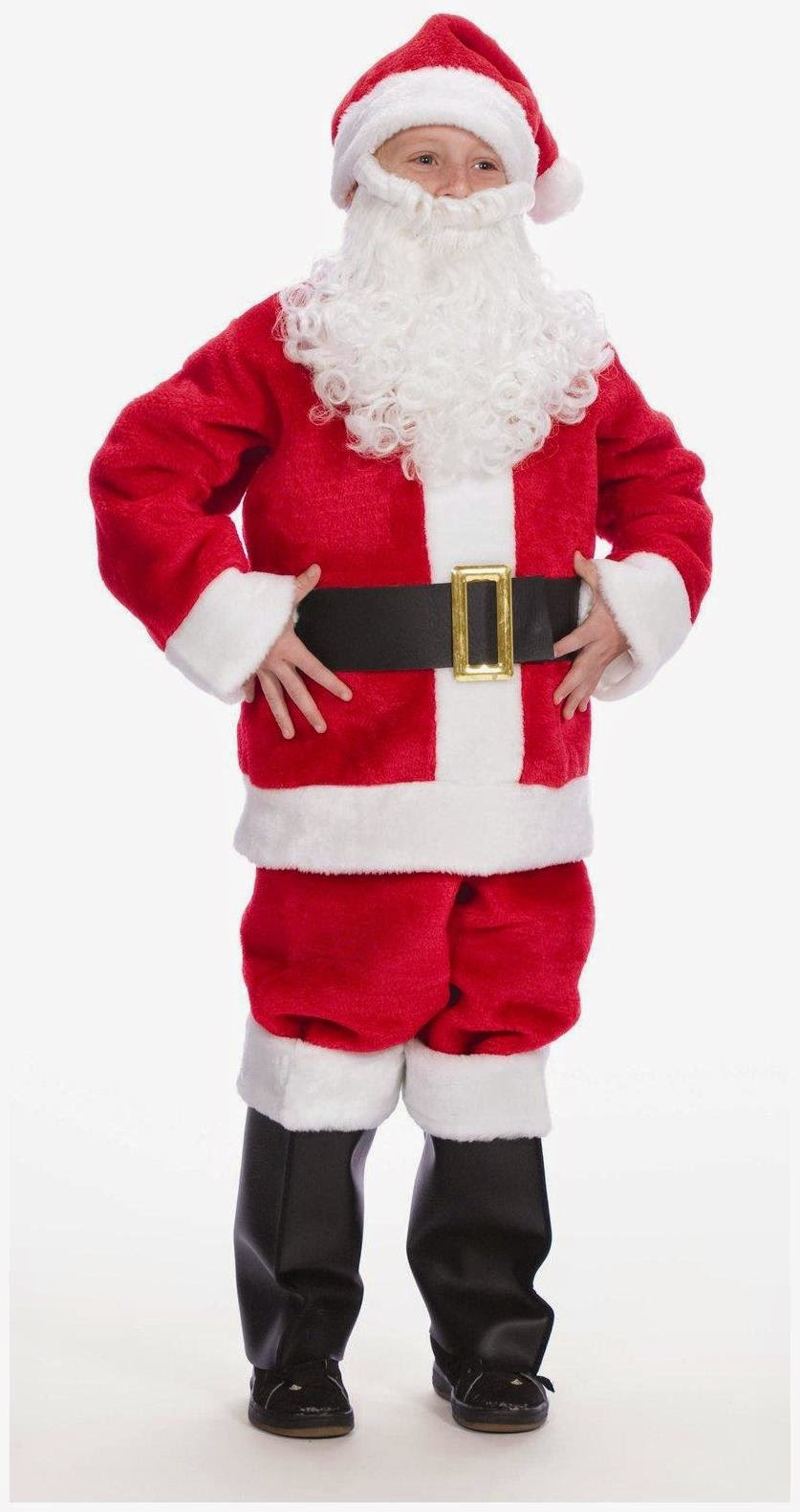 ff1f084de6c1b Kids love Christmas and the Santa costume is a perfect choice for them for  Christmas. Dress them like a Santa so as they can feel the joy of this  wonderful ...