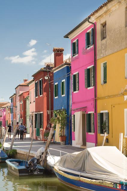 Burano visitar turismo casas colores