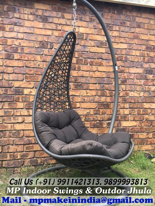 Swing Chair With Stand Outdoor