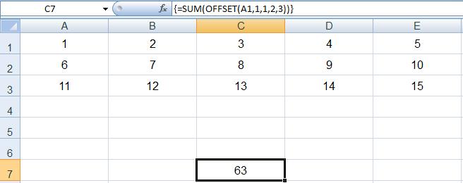 how to not include hidden cells in sum