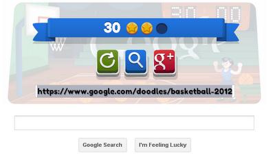 I Played Basketball Google Doodle 1
