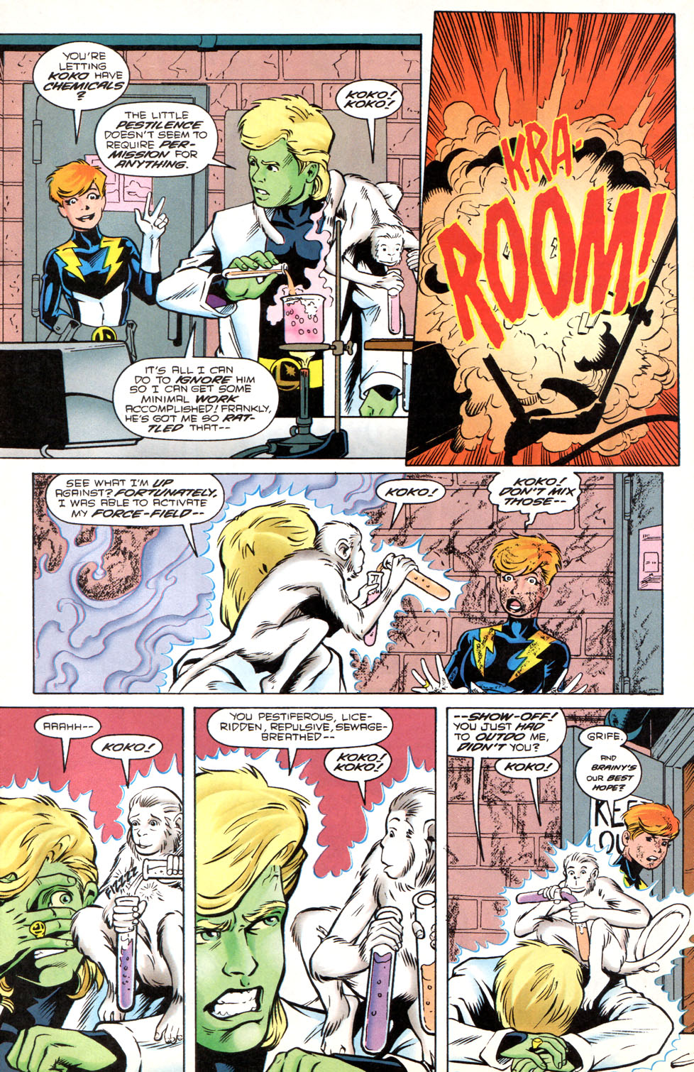 Legion of Super-Heroes (1989) 89 Page 6