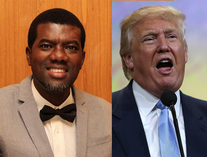 Nigerians suck - BBC African listeners react as Reno Omokri supports Donald Trump