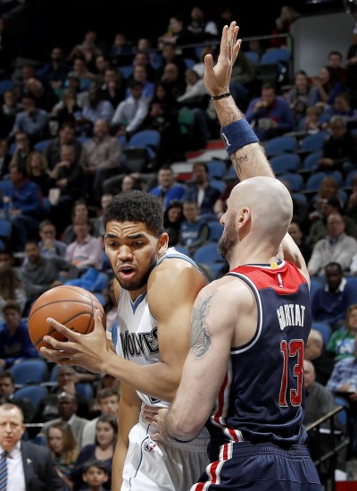 Karl-Anthony Towns destroza a Washington con 39 puntos
