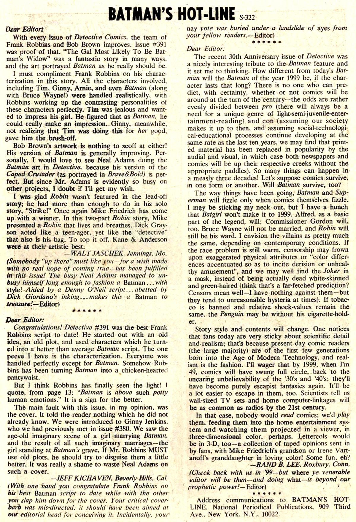Detective Comics (1937) 395 Page 33
