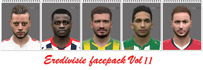 Eredivisie Facepack Vol 11