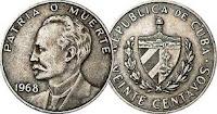 20 cents - Cuba - 1968