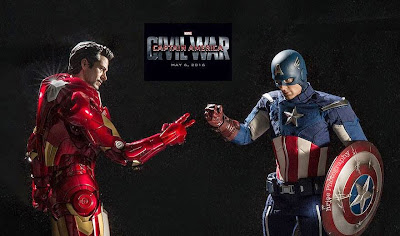 Iron Man y Capitan america