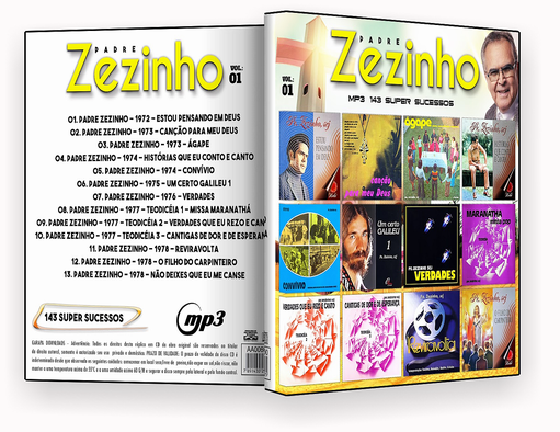 MP3 – Padre Zezinho – Discografia – Vol.1