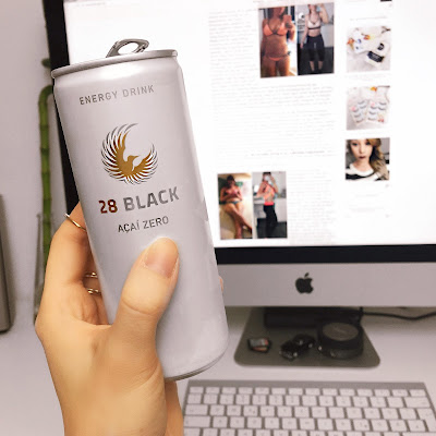 Energy Drink 28 Black Review, Zuckerfrei, Low-Carb, Diät,