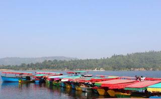 Dudhani boating lake sikara type