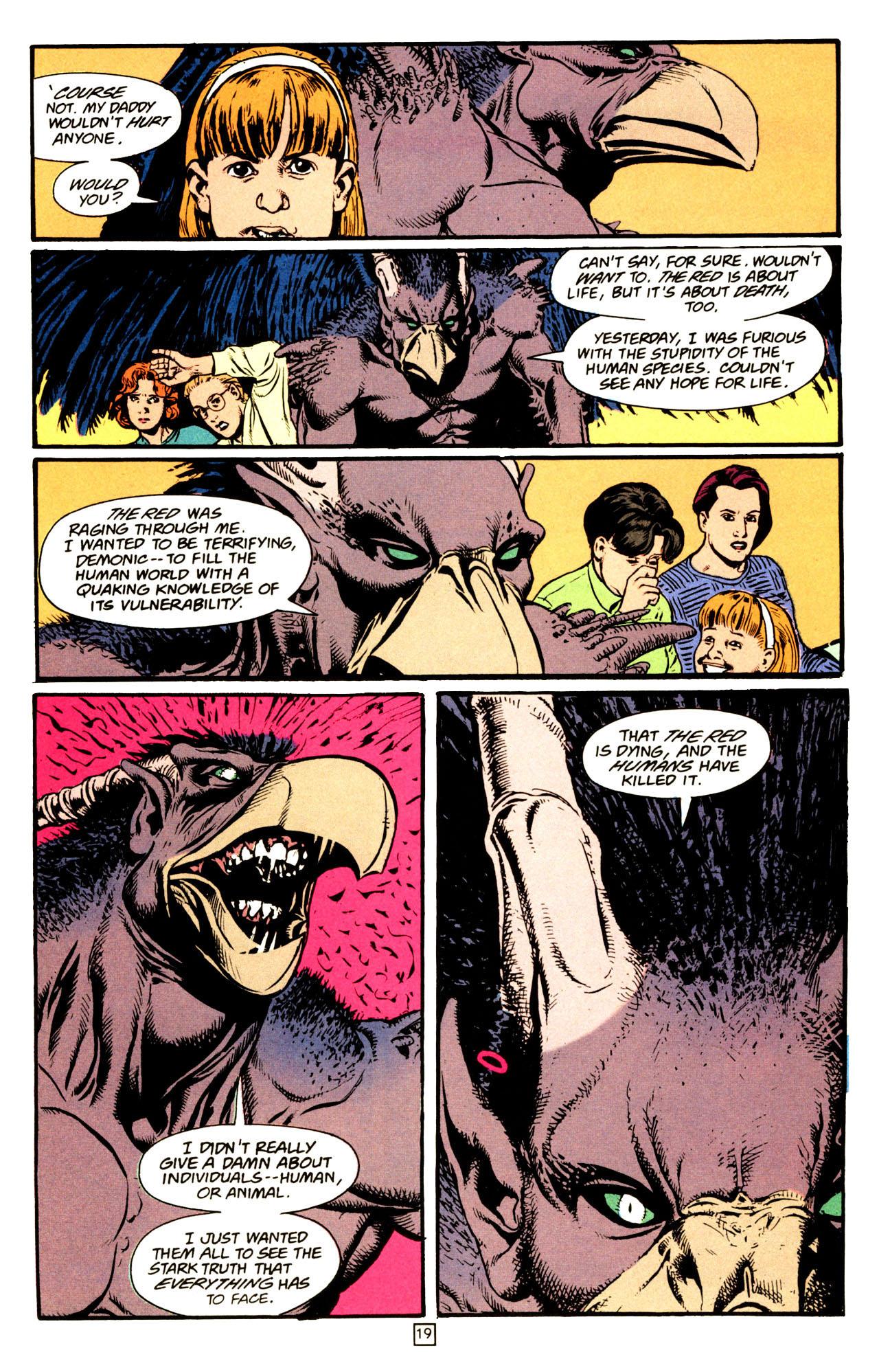 Read online Animal Man (1988) comic -  Issue #72 - 20