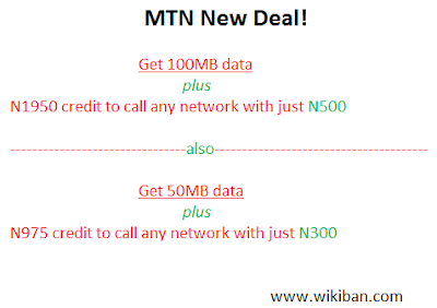 mtn latest data plan at wikiban.com