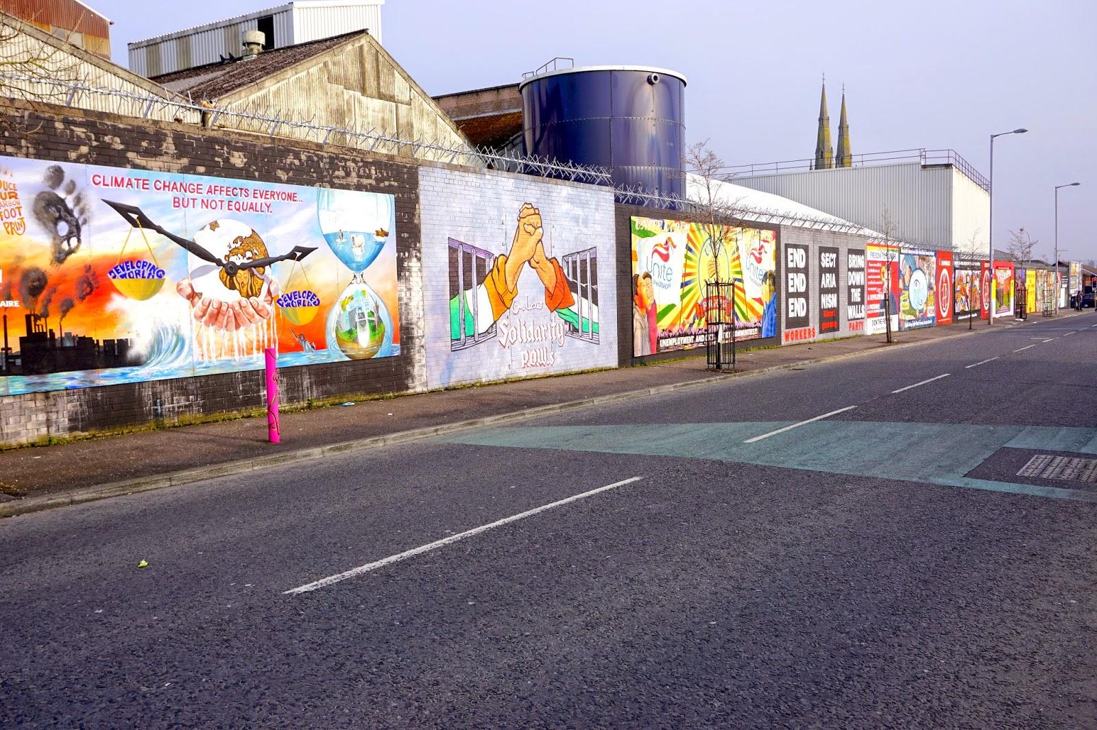 Belfast Peace Wall Murals