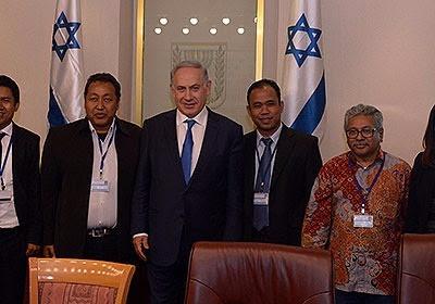 Sejumlah Wartawan Indonesia Temui Netanyahu Bahas Hubungan RI-Israel