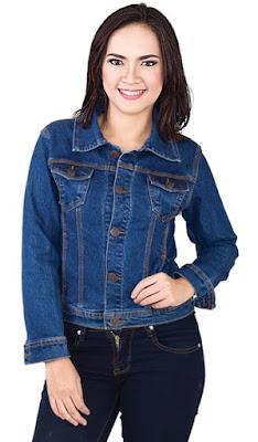 jaket jeans, jaket jeans wanita, jaket jeans murah, jaket jeans levis
