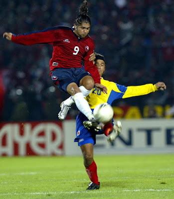 Chile y Colombia en Clasificatorias a Alemania 2006, 5 de septiembre de 2004