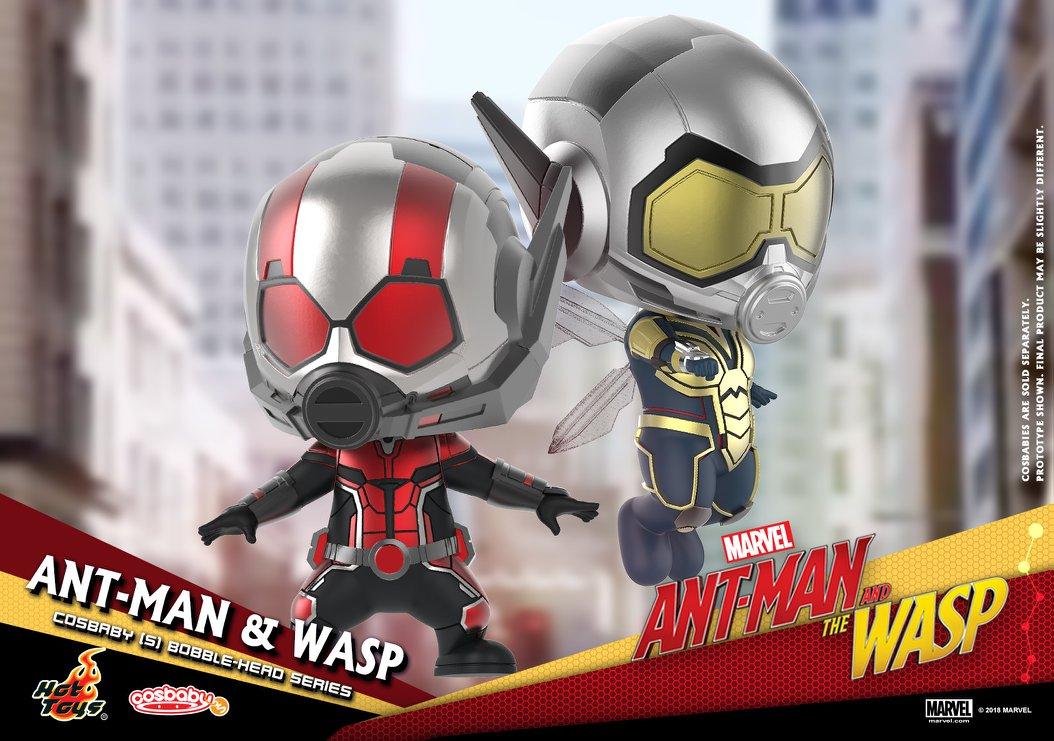 Le buvard dit Ant-Man et la Guêpe Cosbaby Mini Figure-8573