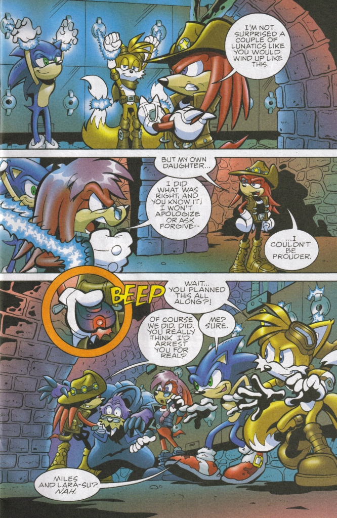 Read online Sonic The Hedgehog comic -  Issue #167 - 5