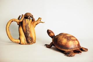 obra de arte en madera