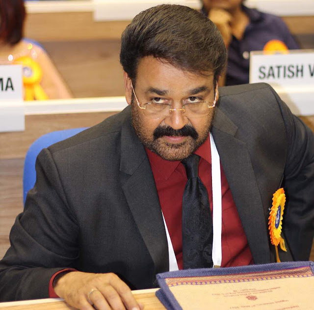 Mohanlal at the National Film Awards Ceremony