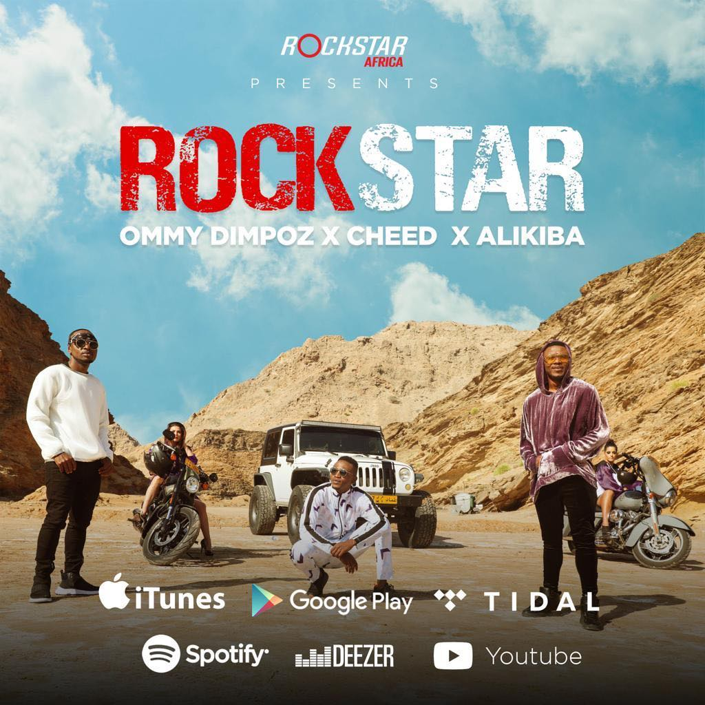 Ommy Dimpoz x Alikiba x Cheed – ROCKSTAR