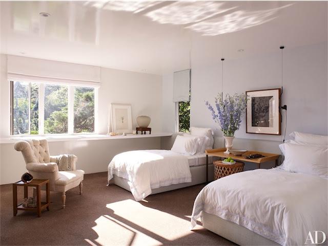 dormitorio de invitados con dos camas chicanddeco