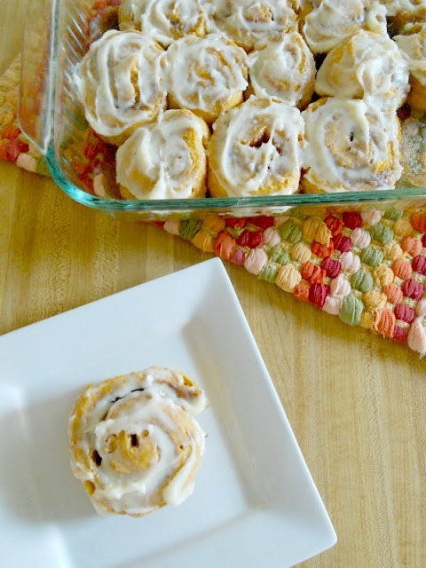 Ally S Sweet Savory Eats Quick And Easy Pumpkin Cinnamon Rolls