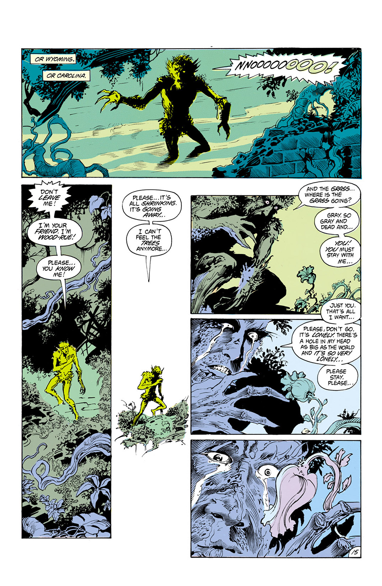 Swamp Thing (1982) Issue #24 #32 - English 16