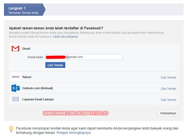 cara mudah daftar akun facebook, daftar jejaring sosial, cara daftar sosmed facebook, daftar facebook dengan email, pesbuk, fb, facebooker, pesbuker