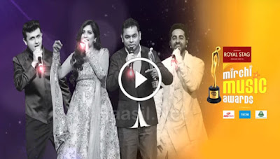 Mirchi Music Awards 2018 18th March 2018 HDTV 480p 550Mb x264
