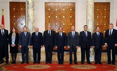 الوزراء الجدد