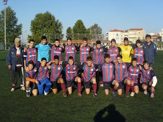 η ομάδα νέων της ακαδημίας ποδοσφαίρου θεσσαλονίκης