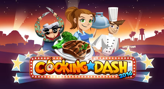 Cooking Dash Mod Apk Terbaru Unlimited Golds/Coins
