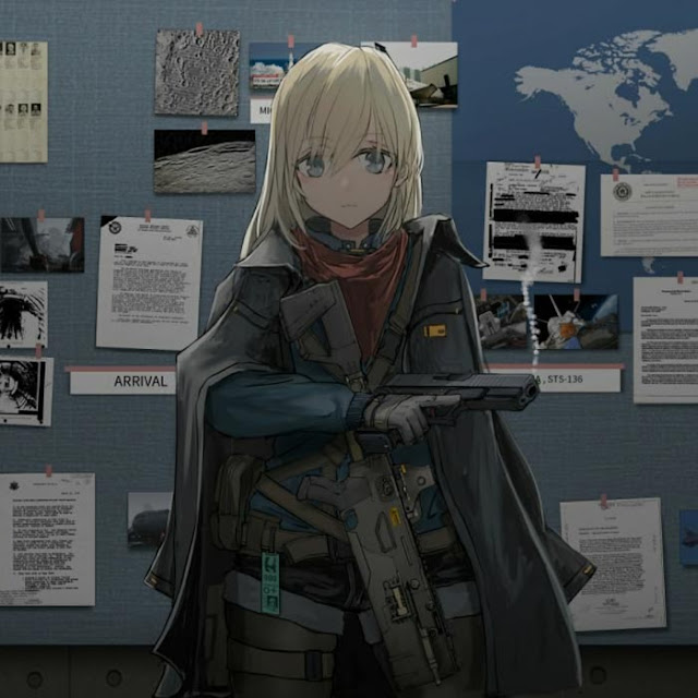 Girl Weapon Wallpaper Engine