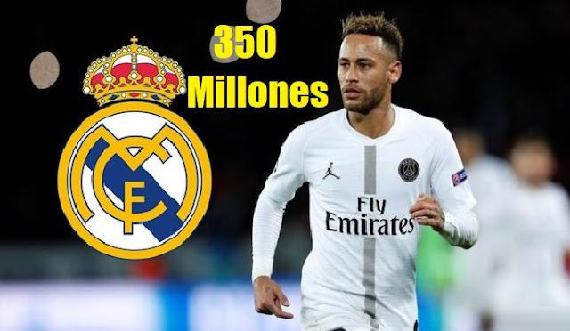 Florentino prepara 350 Millones para fichar a Neymar