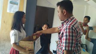 Berempati pada Korban Gempa dan Tsunami, Siswa SD di OKI Galang Donasi