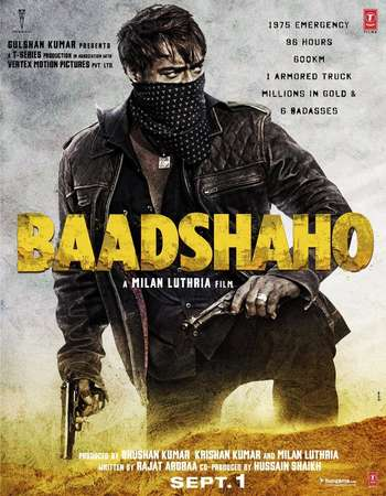Baadshaho 2017 Full Hindi Movie DVDRip Free Download