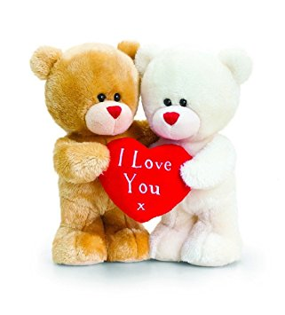 Beautiful I Love You Teddy Bear Image for Couples & Lovers