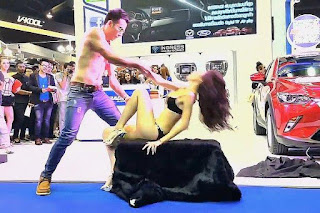Prayut wants antics of motorshow 'pretties' regulated  .