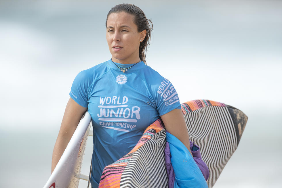 1 Ariane Ochoa World Junior Championship foto WSL Kelly Cestari