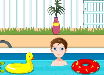 KnfGame Swimming Pool Escape