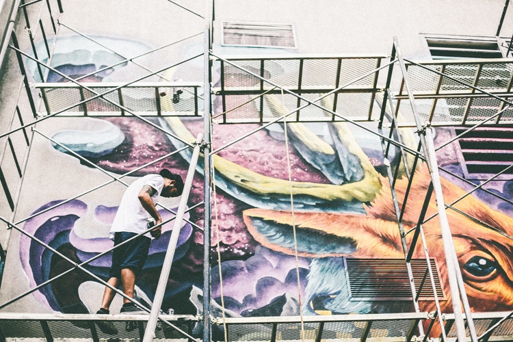 The artbgc mural festival returns to bgc wazzup for Bonifacio mural