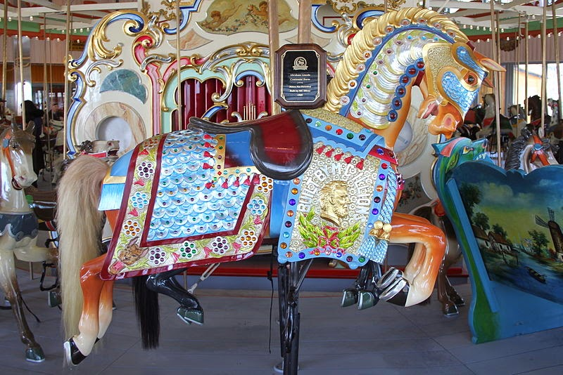 Example of Coney Island Style, Illions Horse