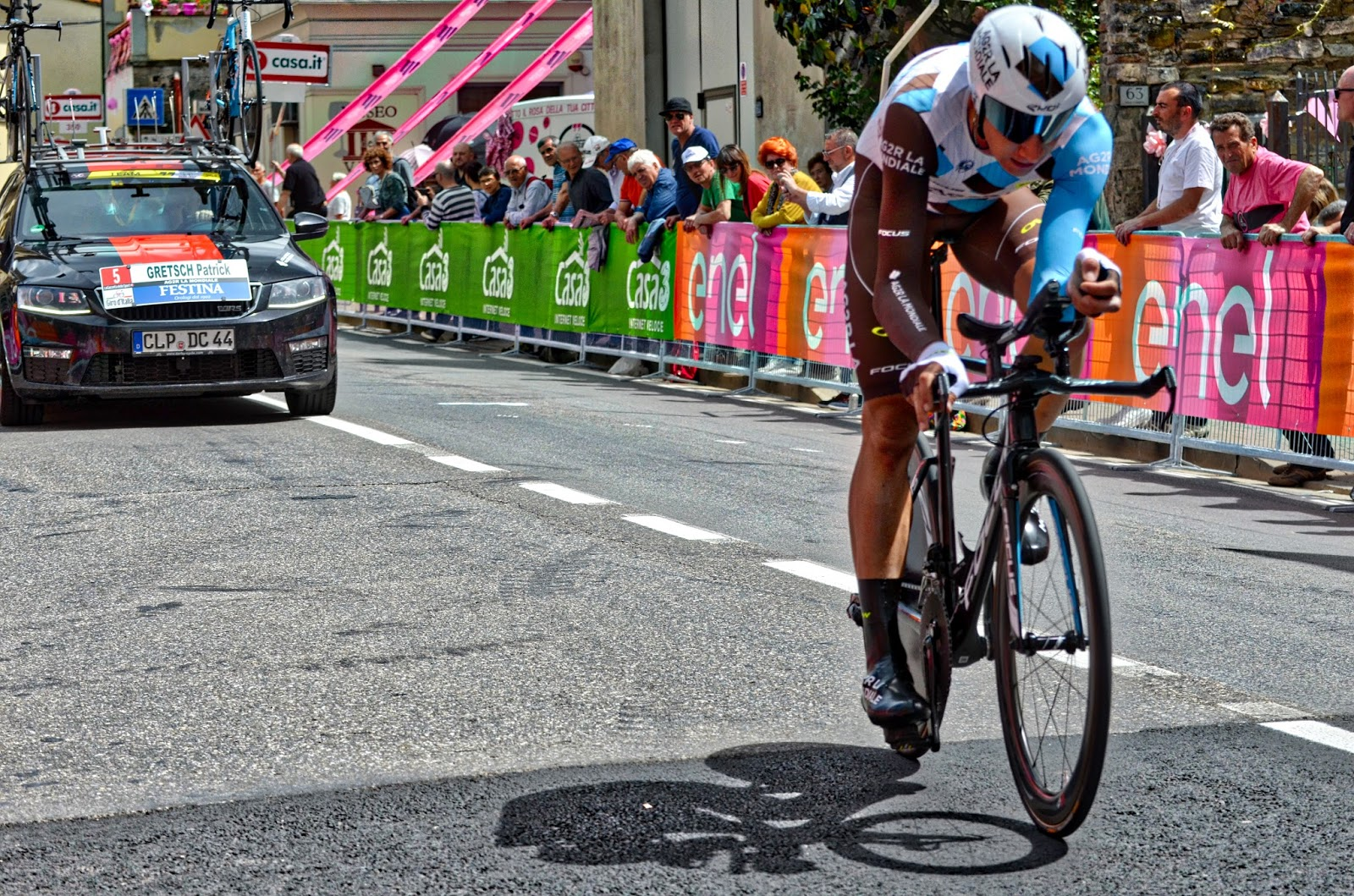 4cc42a5cc Chianti individual time trial route stage of Giro d Italia in Tuscany Italy
