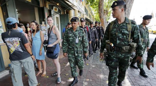 Serangan Brutal Terhadap wisatawan di Thailand