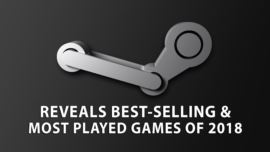 steam best selling games 2018