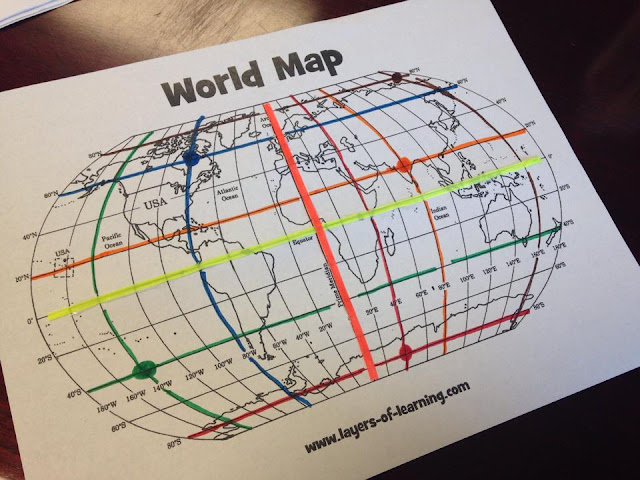 Unusual world map grid layers of learning free printable world map beautiful world map grid layers of learning free printable world map gumiabroncs Choice Image
